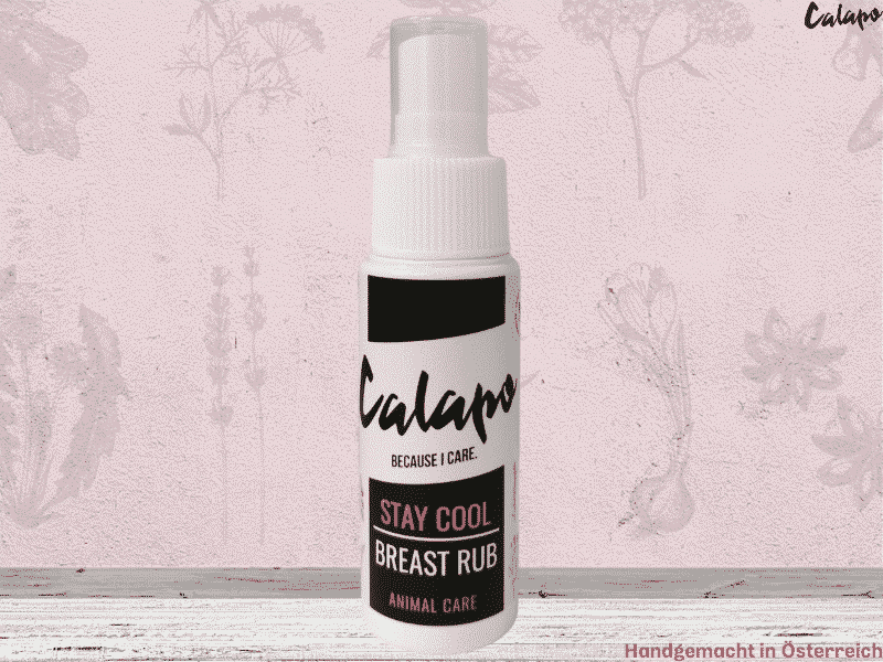 CALAPO STAY COOL BREAST RUB für Hunde